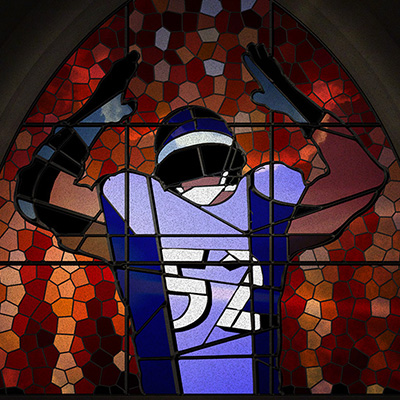 Ray Lewis Stained Glass